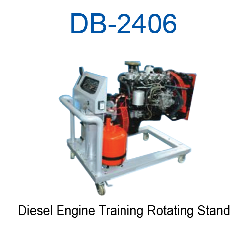 Diesel Engine Training Rotating Stand